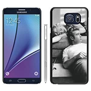 Hot Sale James Dean And Marilyn Monroe 1 Black Samsung Galaxy Note 5 Screen Phone Case Beautiful and Genuine Design
