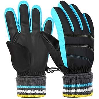 Amazon.com: VBG VBIGER Boys Girls Winter Gloves Kids Ski