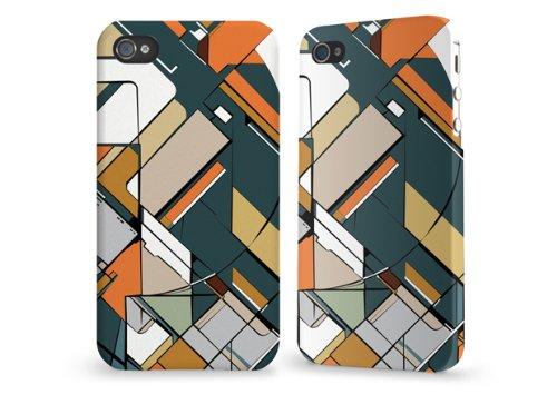 """Hülle / Case / Cover für iPhone 4 und 4s - """"Mosaik"""" von caseable"""