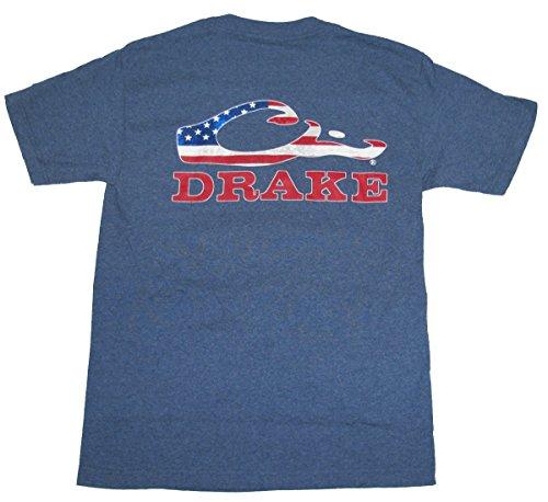 Drake-Waterfowl-Americana-Logo-T-Shirt