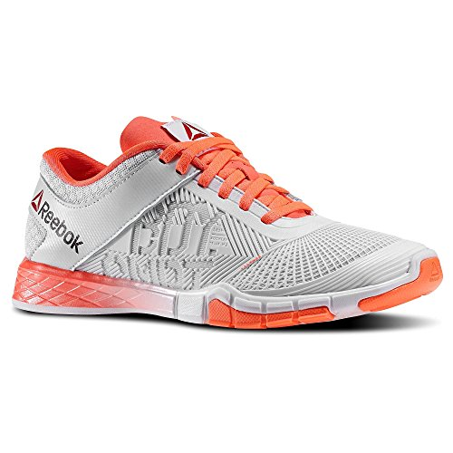 Reebok Womens Studio LES Mills Body Combat Dance Shoes in Vitamin C/Polar Blue/White Size 7 (Best Shoes For Body Combat)
