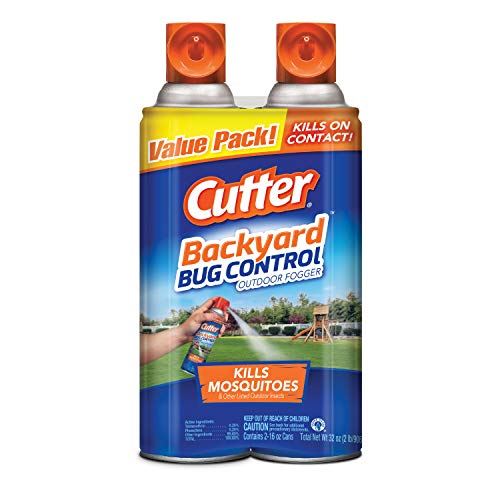 Cutter Backyard Bug Control Outdoor Fogger, 2/16-Ounce (Spray To Get Rid Of Ticks In Yard)