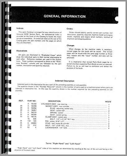 Download Case 220 Lawn & Garden Tractor Parts Manual pdf epub