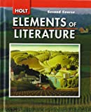 Holt Elements of Literature, Second Course Grade 8, Kylene Beers, 0030424135