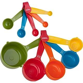 Trudeau Measuring Set 10 pcs-Cups & Spoons