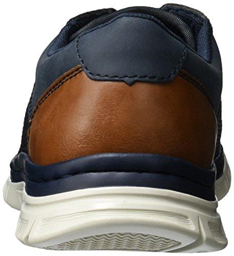 Rieker B4832, Zapatillas para Hombre Azul (Denim/atlantis/sherry / 14)