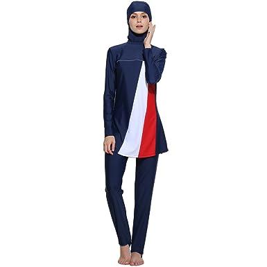 fff13df108b05 Seafanny Muslim Swimwear For Women Islamic Hijab Modest Swimsuit Burkini  (XXL(AUS Size 14