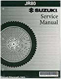 99500-20202-01E 2001-2005 Suzuki JR 80 Motorcycle Service Manual