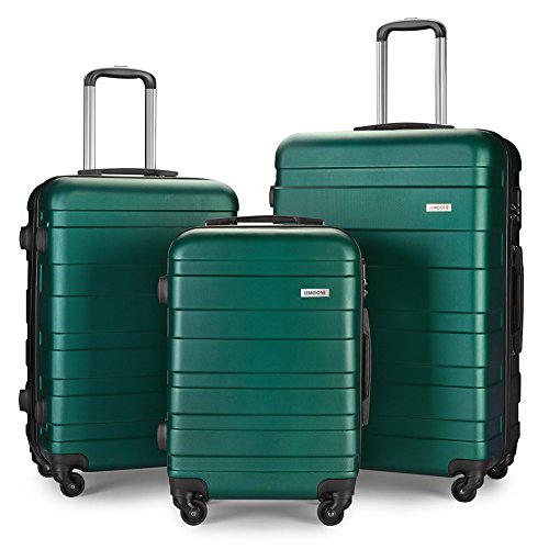 Luggage Set Spinner Hard Shell Suitcase Lightweight Carry On - 3 Piece (20
