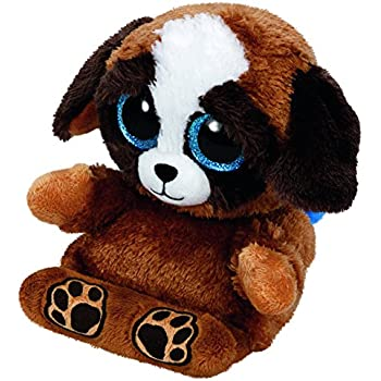 Spiele Ph004 Pups Puppy Phone Holder  Stuffed Animal By Ty