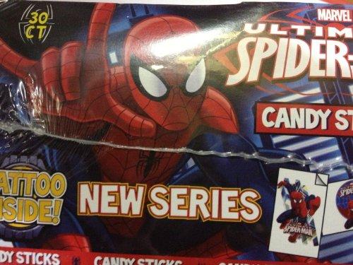Marvel Spider Man Candy Sticks