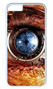 Eyes Art Thanksgiving Halloween Masterpiece Limited Design PC White Case for iphone 6 by Cases & Mousepads