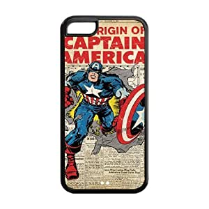 Marvel Comics Captain America Iphone 5c Silicone Case Cover