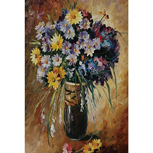 Puzzle ✌PT 300/500/1000 Pieces Wooden Jigsaw Adult Decompression Kids Educational Toys Landscape Flower Oil Painting 0625 (Size : 1000pc)