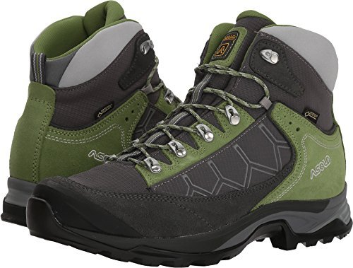 Asolo Women's Falcon GV Hiking Boots Graphite/Graphite/English Ivy - 7.5
