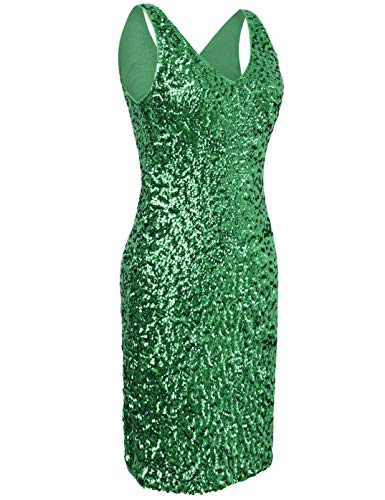 Senza Verde Kayamiya Maniche Vestito Sera Donna TEwFgxPqY