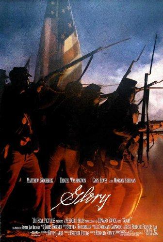 (Glory Poster Movie D 11x17 Matthew Broderick Morgan Freeman Denzel Washington Cary Elwes)