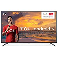 """Smart TV 4K LED 50"""" TCL 50P8M Android Wi-Fi - Bluetooth HDR Inteligência Artificial 3 HDMI 2 USB"""