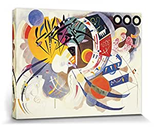1art1® Wassily Kandinsky Stretched Canvas Print - Dominant Curve, 1936 (32 x 24 inches)