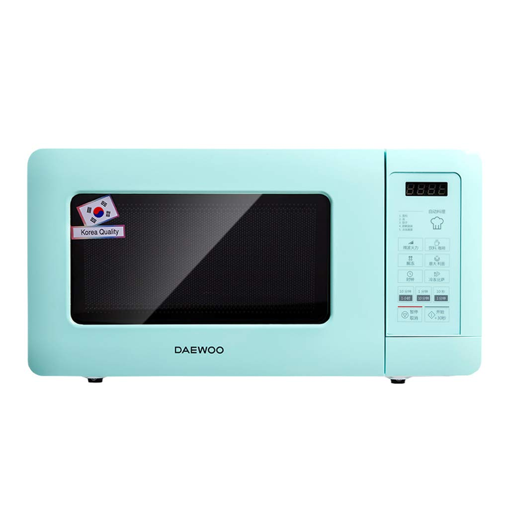 Small Wall-mounted Rotary Microwave Oven, 500W 0.5 Cu.Ft Hanging Whirlpool Compact Microwave Oven, Compact Microwave For Dorm, Light Green