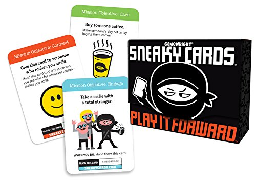 Gamewright 351 Sneaky Cards Card