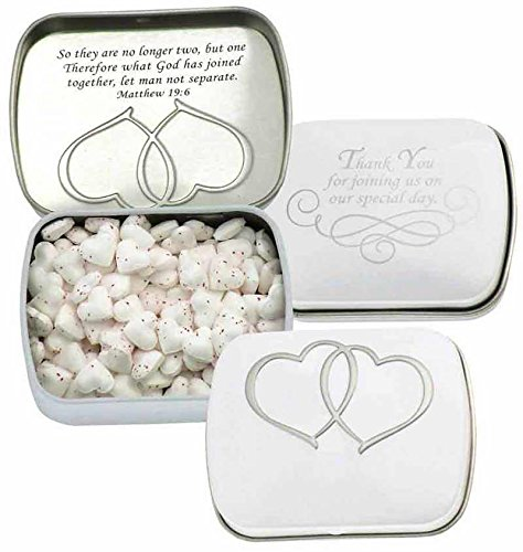 Candy - Scripture Mints Pocket Tin - Cinna/Wedding(SF): Amazon.com: Grocery & Gourmet Food