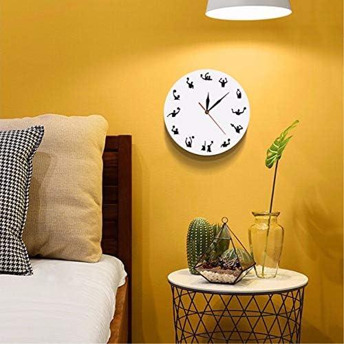 jasonding Polo Acuático Diseño Minimalista Reloj De Pared ...