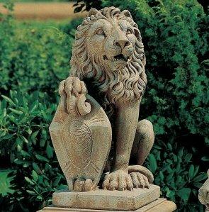 Jardin Estatua Escultura De Leon Para Jardin Fabricado En Hormigon