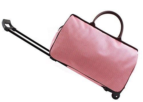Rolling Duffel Carry On Bag - 8