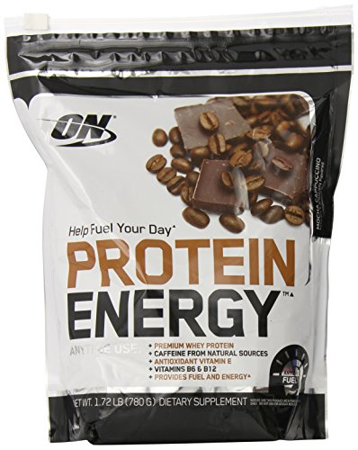 Optimum Nutrition On Protein Energy Supplement  Mocha Cappuccino  1 72 Pound
