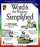 Word 6 for Windows Simplified, Maran Graphics Staff and Ruth Maran, 1568846606