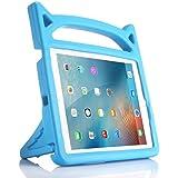 iPad 9.7 2018 & 2017/iPad Pro 9.7/iPad Air/iPad Air 2 Case, Lmaytech Light Weight Shock Proof Cartoon Kids Case for iPad Air/Air 2/iPad Pro 9.7 and iPad 9.7 2018 & 2017 (iPad Case, Blue)