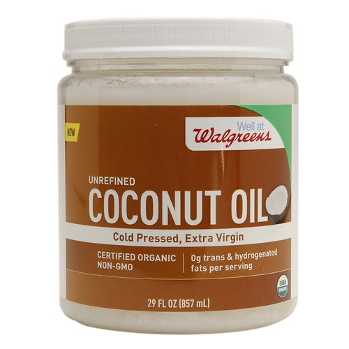 walgreens-unrefined-coconut-oil-29-oz-1-pack-