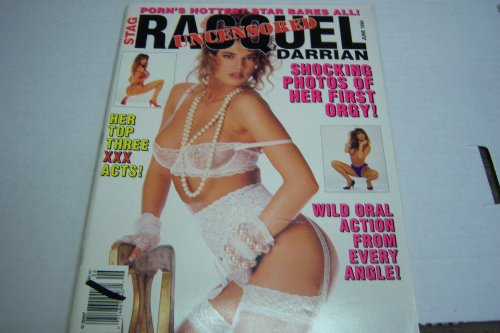 Racquel Darrian Uncensored Busty Adult Magazine