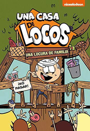 Una locura de familia (Una casa de locos) por Nickelodeon
