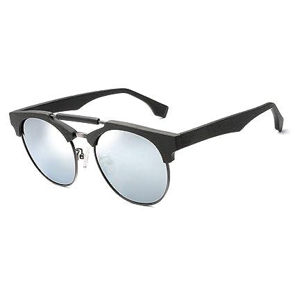Gafas sol protección polarizadas Redondas clásicas de UV400 con la Almohadilla de la Nariz del silicón