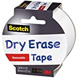 Office Products : Scotch Dry Erase Tape, White, 1.88-Inch x 5-Yard