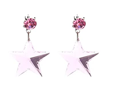 Image Unavailable. Image not available for. Color  Swarovski Star Earrings  ... 1fb6b597ad