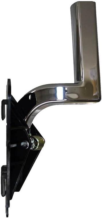 Interior Inner Inside Door Handle Passenger Side PT Auto Warehouse GM-2951M-RH Chrome Lever