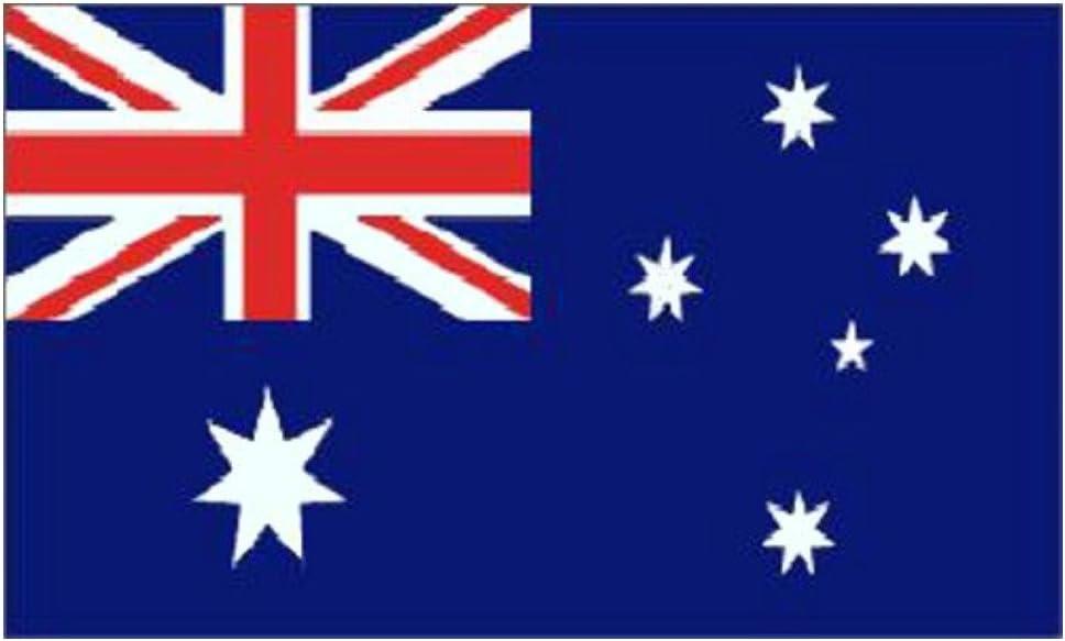 Australia país grande bandera nacional 152,4 cm x 91,44 cm: Amazon.es: Hogar