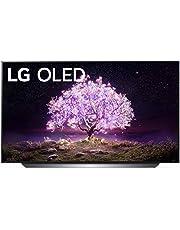 "LG OLED48C1PUB Alexa Built-in C1 Series 48"" 4K Smart OLED TV (2021)"