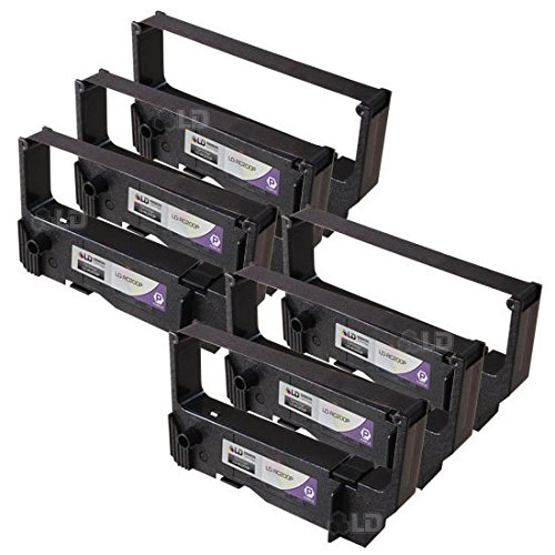 LD Compatible Replacements for Star Micronics RC200P Set of 6 Purple Ribbon Cartridges for use in Star Micronics, and Casio Printers by LD Products