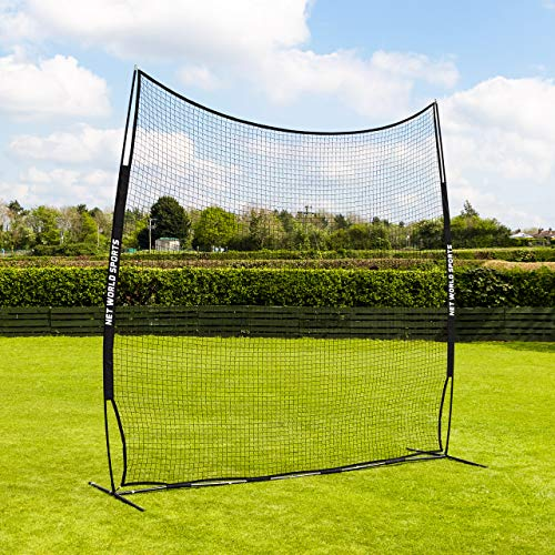 (Forza Pop-Up Stop That Ball - 10ft High - Multi-Sport Ball Stop Netting and Post System (10ft))