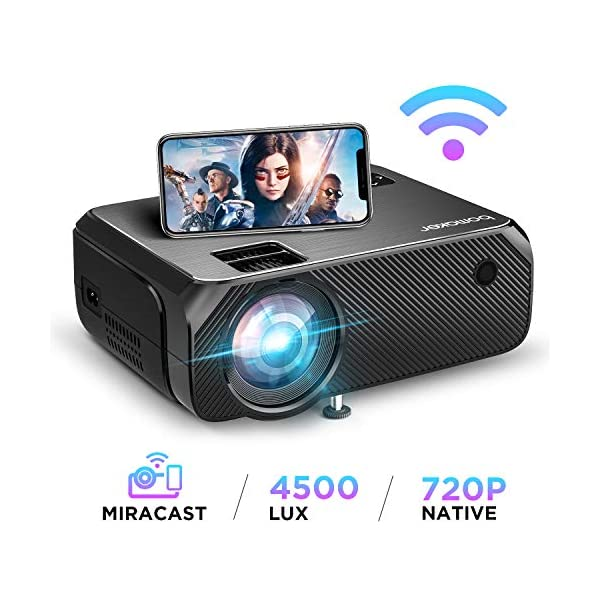 WiFi Full HD Support Projector Series