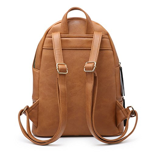 Backpack Shoulder Craze PU Bag Grey Ladies bag Girls Rucksack London Women Travel Leather Fashion xYwYUIq