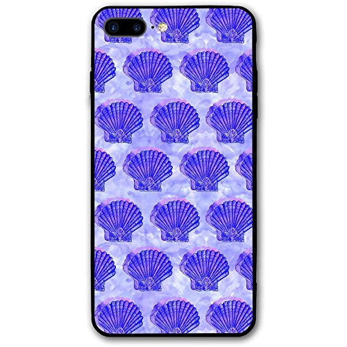 Scallop In Shell Custom IPhone 8 Plus Case Phone Case Cover,Flexible Soft Slim Fit Full Protective Shell Phone Case For Girl Woman Man
