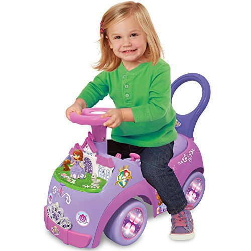 Kiddieland Disney Sofia the First Lights and Sounds Activity Ride-On Toy