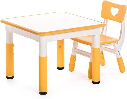 ZH Muebles para niños, Mesa de Actividades para Infantiles con 1 ...