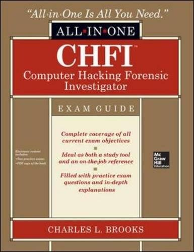CHFI Computer Hacking Forensic Investigator Certification All-in-One Exam Guide (Dave Best Deals Virus)