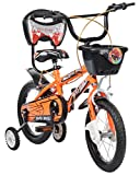Mad Maxx Steel Kid's Single Speed Road Cycle, 14 Inches (Neon Orange)